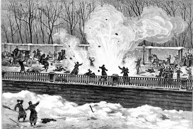 Teroristický útok z 1. marca 1881, ktorého obeťou sa stal cár Alexander II.
