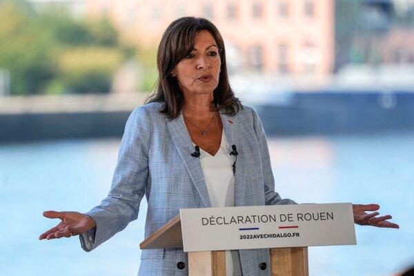 Socialistická starostka Paríža Anne Hidalgová.