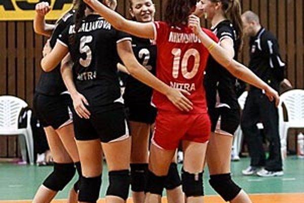 Volejbalistky COP Nitra vyhrali počas víkendu obidva duely.
