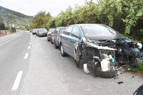 Po ceste viedli aj cyklistické preteky Okolo Slovenska.