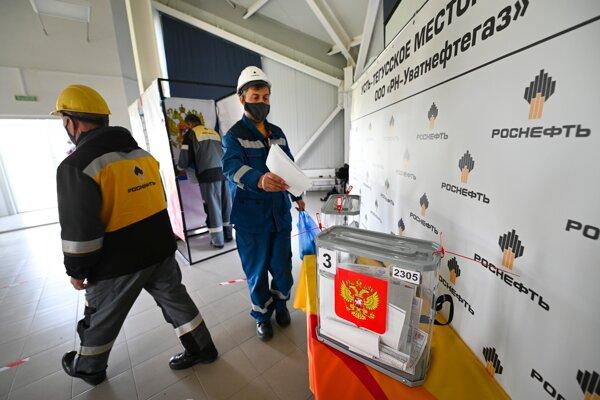 Na Kamčatke a Čukotke sa otvorili volebné miestnosti