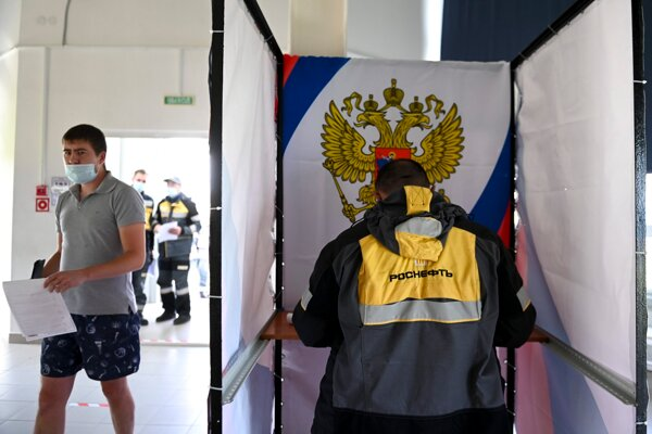Voľby v ruskej Ťumenskej oblasti.