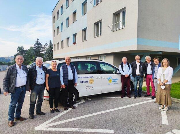 Zástupcovia Rotary klubov z Francúzska prišli do Banskej Bystrice.