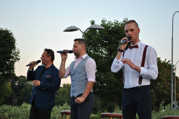 Nové zloženie kapely Gioia (zľava) Peter Ševčík,Matej Vaník aMartin Vetrák.