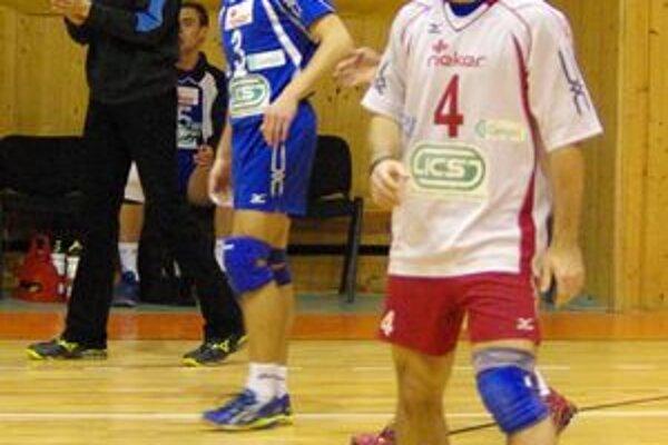 Nitrianski volejbalisti svoj prvý zápas nadstavbovej časti vyhrali.