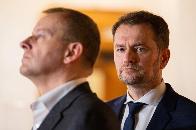 Boris Kollár a Igor Matovič.