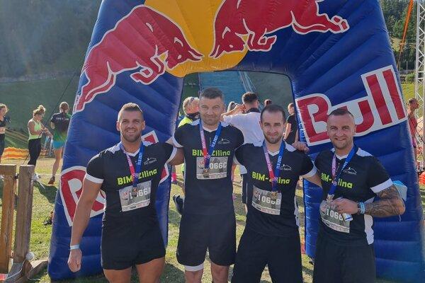 Zľava: Jakub Murárik, Anton Šmehyl, Marek Murárik, Marián Murárik.