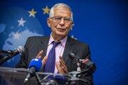 Josepa Borrell, šéfa diplomacie EÚ.