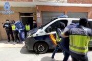 Španielska polícia.