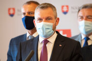 Predseda strany Hlas Peter Pellegrini.