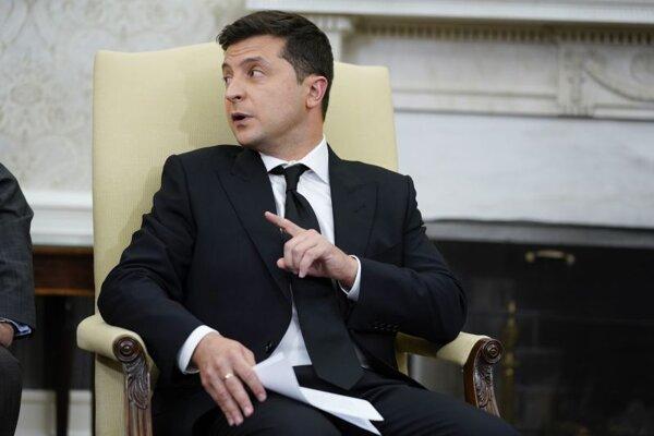Volodxymyr Zelenskyj, prezident Ukrajiny.