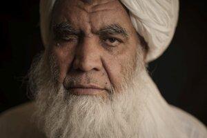 Núrruddín Turábí, jeden z predstaviteľov militantného hnutia Taliban.