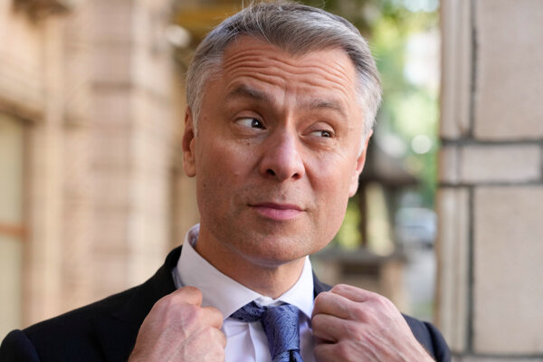 Šéf ukrajinského štátneho energetického koncernu Naftogaz Jurij Vitrenko.