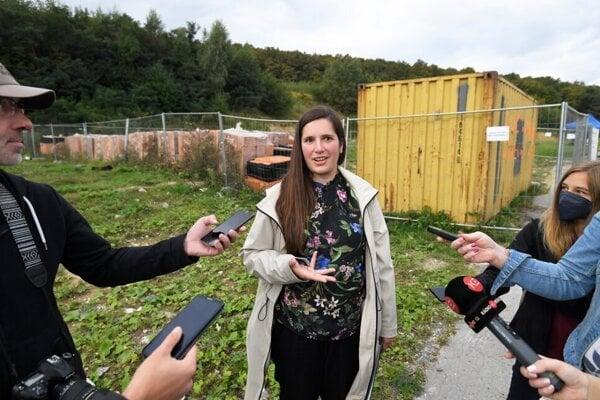 Riaditeľka ETP Slovensko Veronika Poklembová.