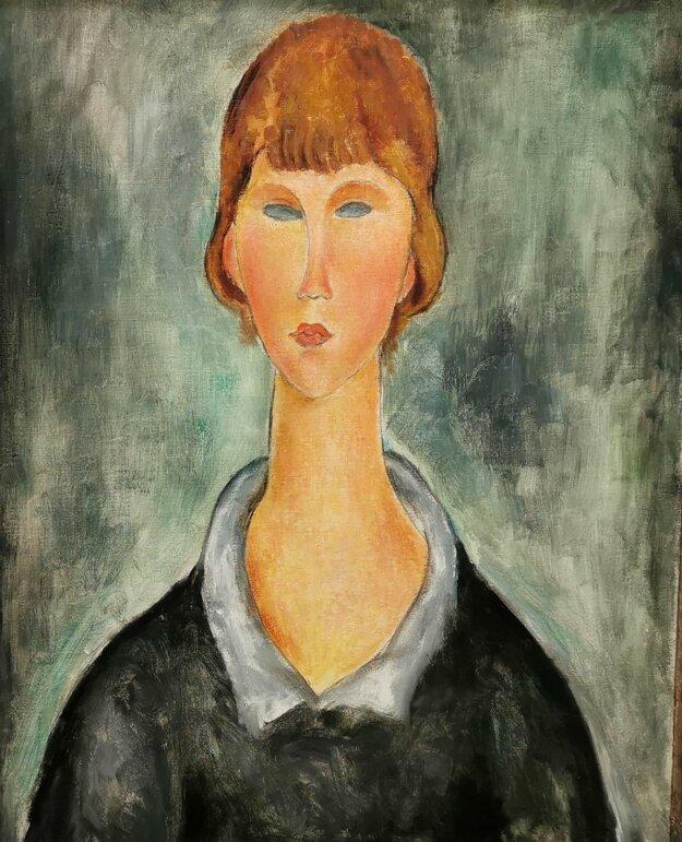 Jeden z Modiglianiho obrazov