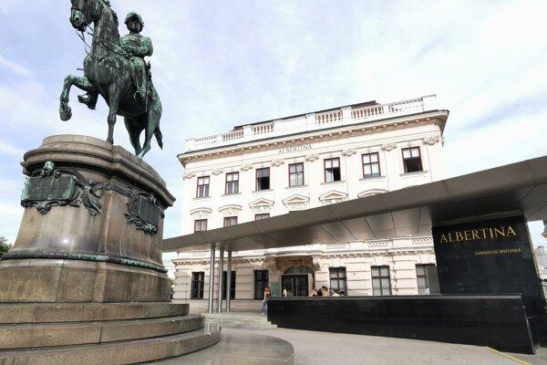 Múzeum Albertina vo Viedni