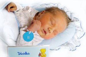 Dávid Podolec z Kanianky sa narodil 16. 8. 2021 v Bojniciach
