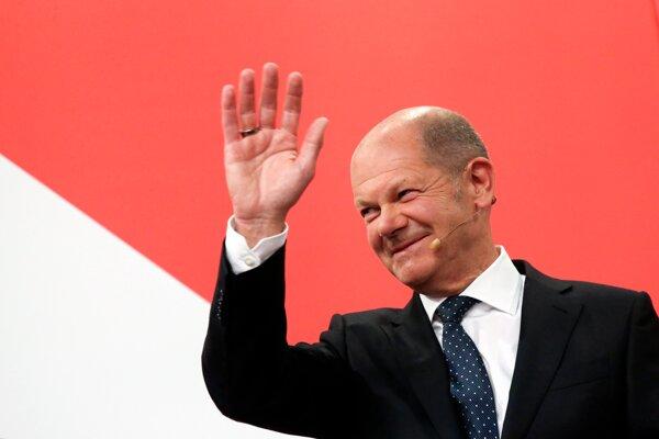 Líder SPD Olaf Scholz.