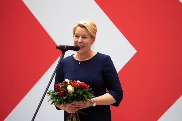 Franziska Giffeyová