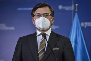 Ukrajinský minister zahraničných vecí Dmytro Kuleba.