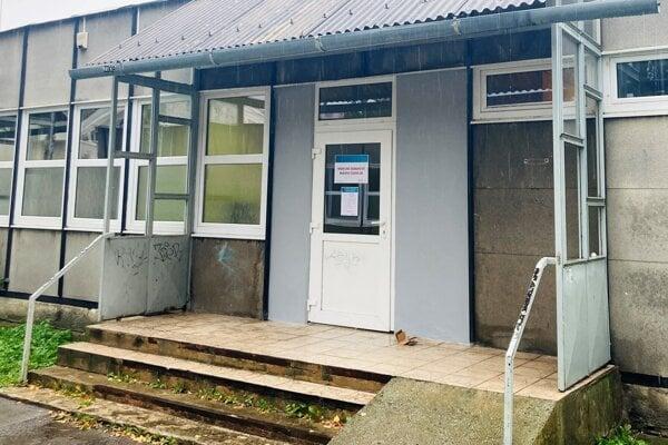 Nové miesto mobilnej odbernej jednotky v kežmarskej nemocnici.