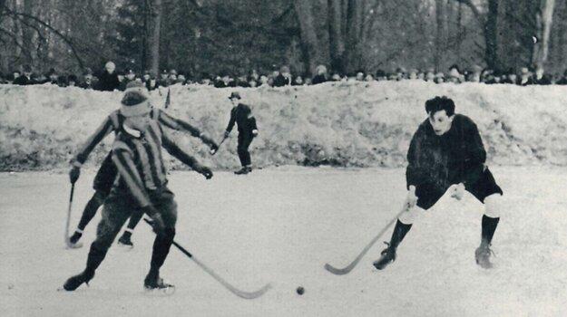 Bandy hokej v Košiciach.