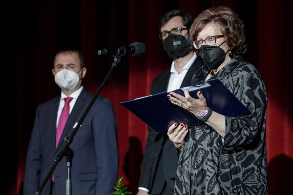 Dnes večer hráme, povedala v úvodnom príhovore riaditeľka festivalu Darina Kárová.