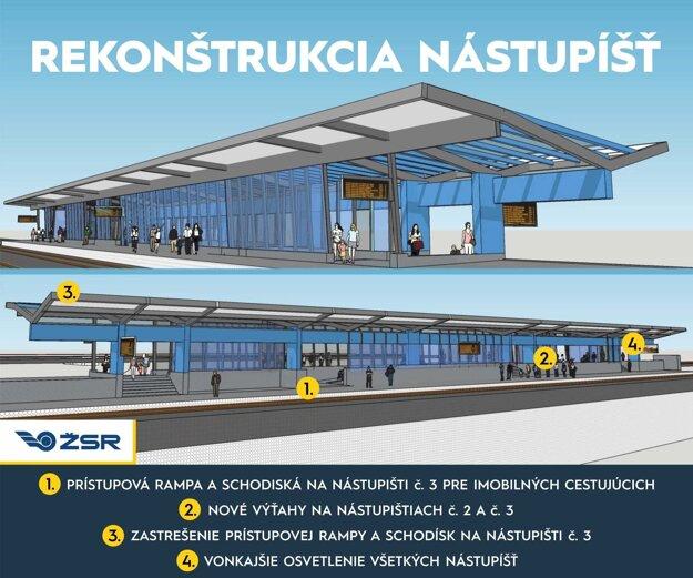 Takto by mala vyzerať košická železničná stanica po rekonštrukcii.