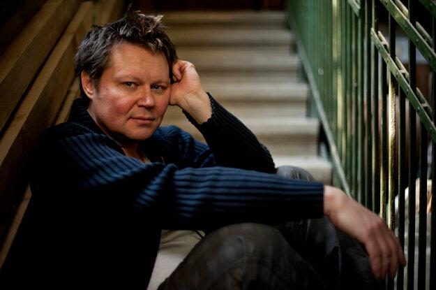 Maďarský režisér Csaba Bollok.
