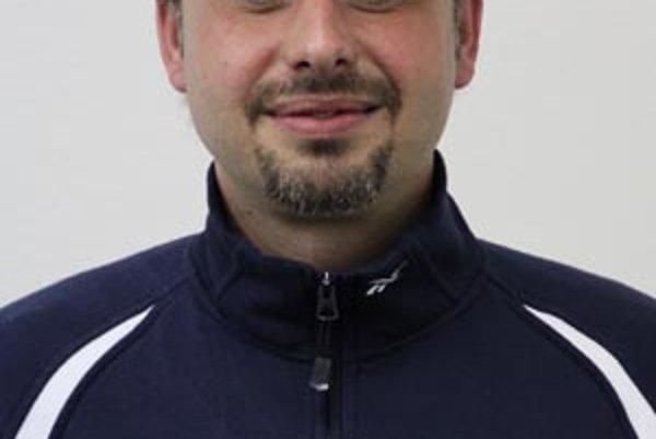 Tréner Richard Mráz.