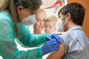Očkovanie detí.