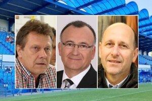Futbalový marazmus v Nitre nenecháva chladných ani bývalých úspešných nitrianskych športových funkcionárov Jána Plandoru, Jána Kovarčíka a Romana Cerulíka.