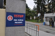 Ústredná vojenská nemocnica v Ružomberku.