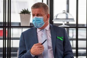 Na snímke minister zdravotníctva SR Vladimír Lengvarský.