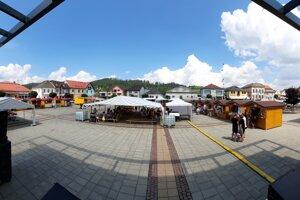 Nové trhovisko v Trstenej.