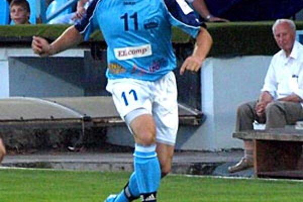 Michal Áč hrával naposledy na poste ľavého obrancu.