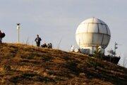Radarová stanica Slovenského hydrometeorologického ústavu (SHMÚ).