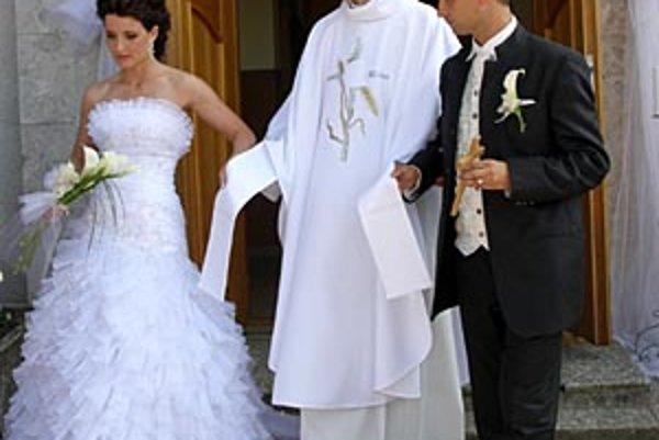 Svadba bola v Machulinciach.