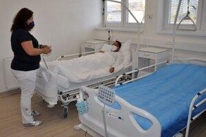 Nové ortopedické oddelenie v dolnokubínskej nemocnici.