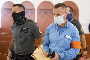Martin Sabolčák vlani na jednom z pojednávaní Špecializovaného trestného súdu v Pezinku.