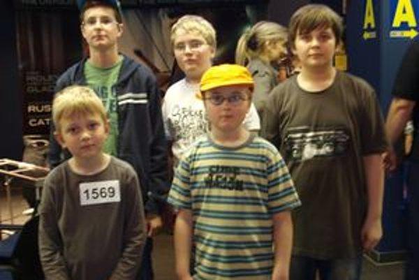 O účasť v šou sa uchádzali aj malí Wild People z Nitry.