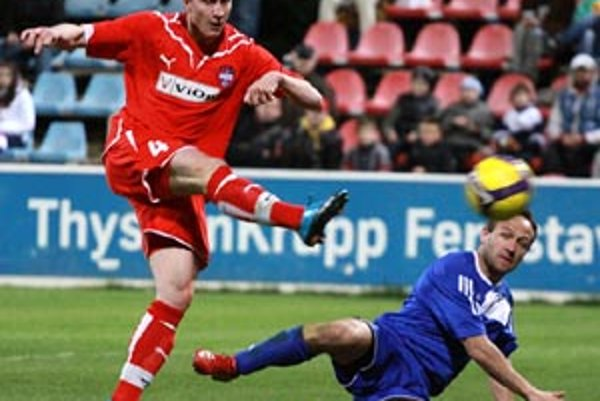 Roman Sloboda otváral skóre v sobotu večer proti Lučencu.
