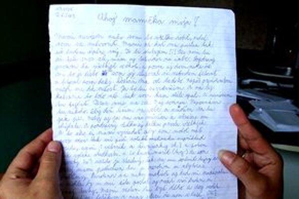 Denis napísal mama list, v ktorom sľubuje, že sa zmení. Prosí ju, aby požiadala prezidenta o milosť.