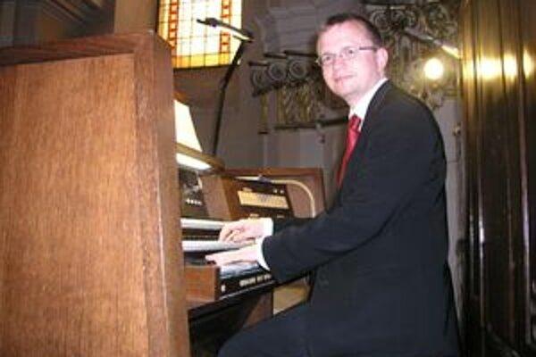 Nór Anders Eidsten Dahl zahral v Nitre aj skladby cirkevných skladateľov.