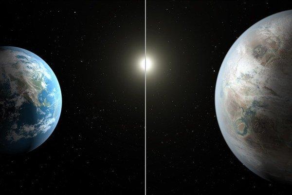 Kepler452b je síce podobná Zemi, ale v planetárnom vývoji má náskok 1,5 miliardy rokov.