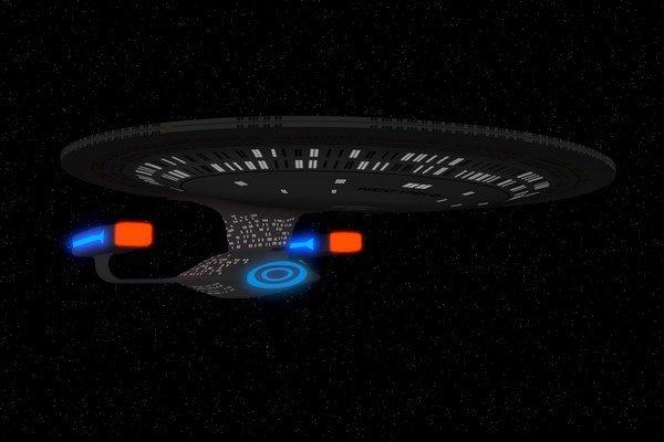 USS ENTERPRISE NCC-1701-D.