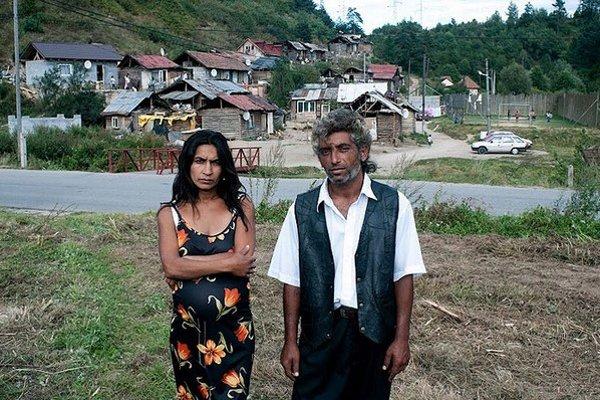 Roman a Mariena, hlavní protagonisti filmu Zvonky šťastia.