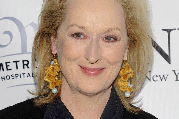 Americká herečka Meryl Streep (65).