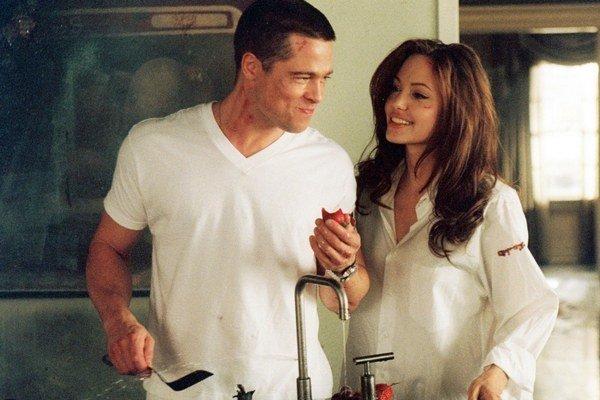 Agelina Jolie a Brad Pitt už hrali manželov vo filme Pán a pani Smithovci.