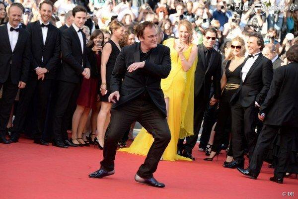 Tarantino vo festivalovej nálade.